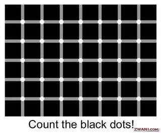 посчитайте черные точки