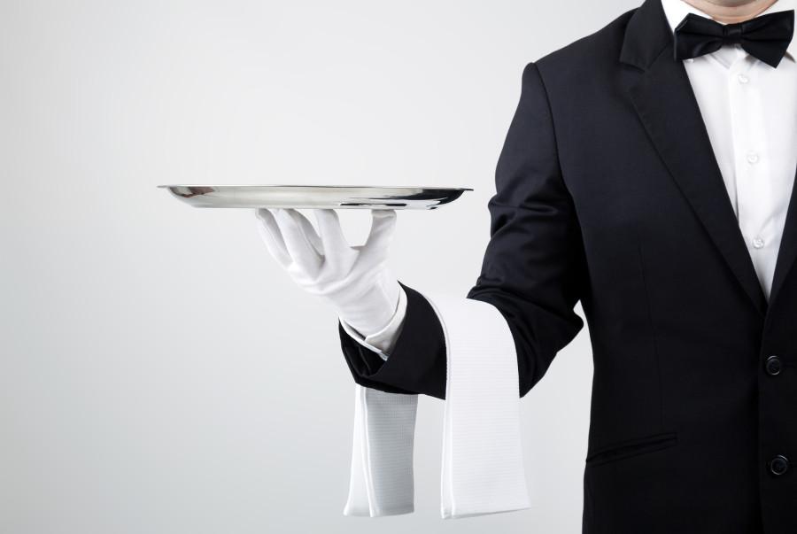ресторан официант сервис