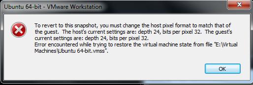 vmware-restore-error