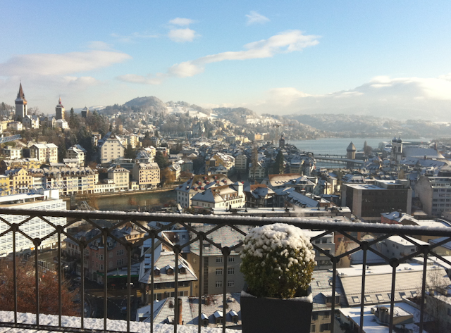 Winter in Luzern