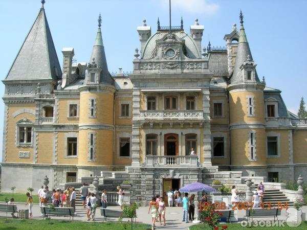 Массандра дворец
