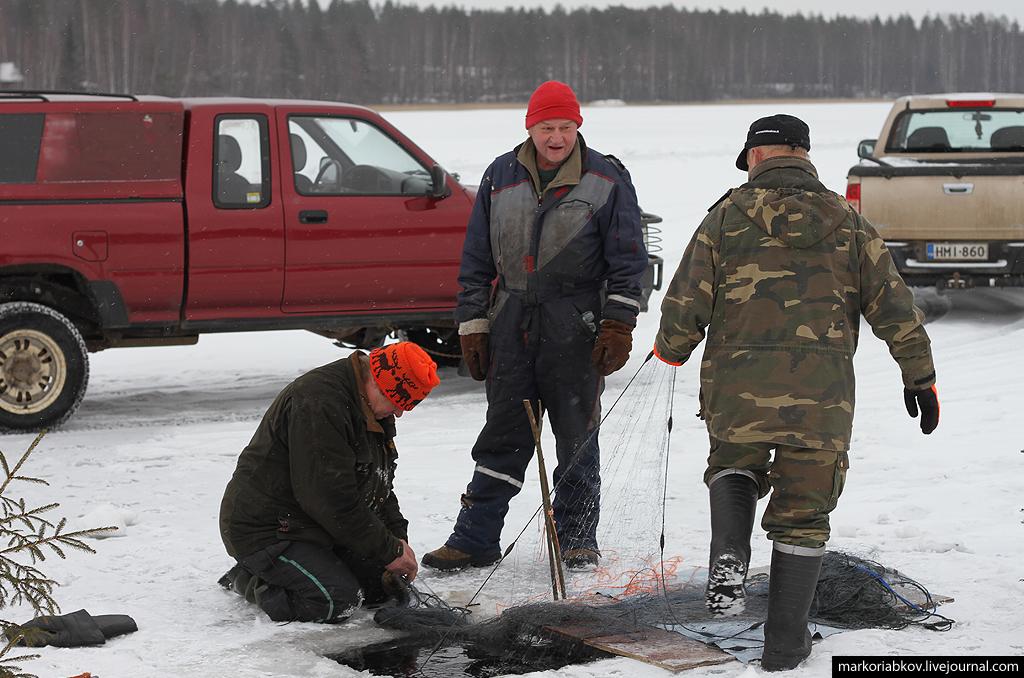 Zimnyaya ribalka setyami v Finlandii 4