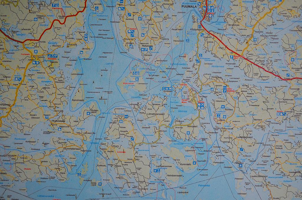 Рыбалка в финляндии карты