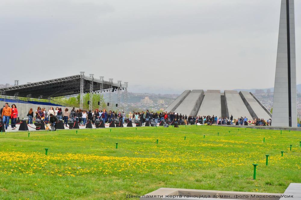 фото, Маркосян Усик,  День памяти, жертв геноцида армян (19)