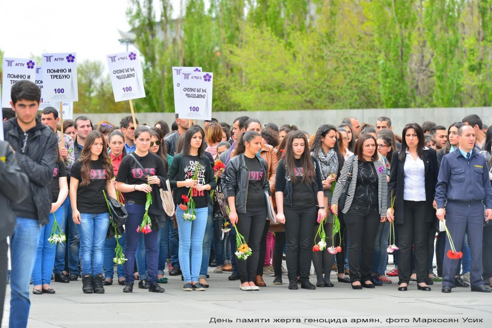 фото, Маркосян Усик,  День памяти, жертв геноцида армян (14)
