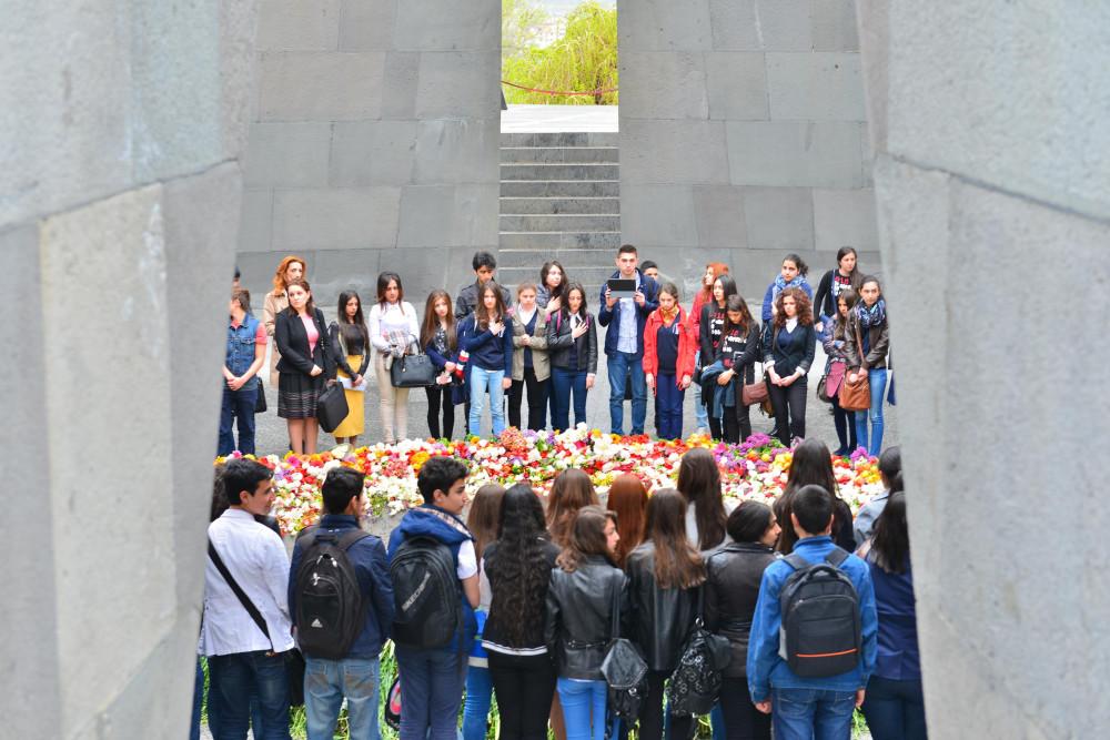 фото Маркосян Усик,  День памяти жертв геноцида армян