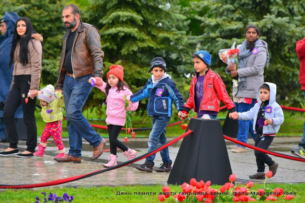 фото Маркосян Усик,  День памяти жертв геноцида армян (24)