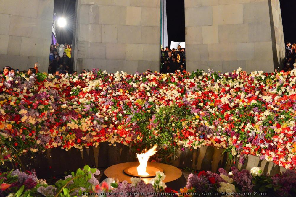 фото Маркосян Усик,  День памяти жертв геноцида армян ..
