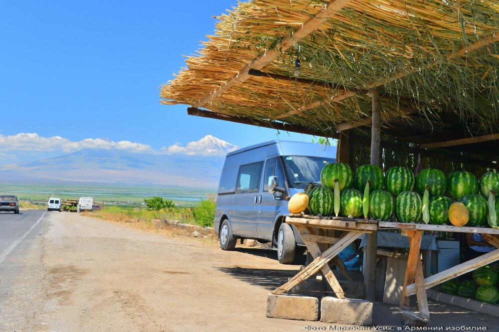 фото Маркосян Усик, в Армении изобилие .