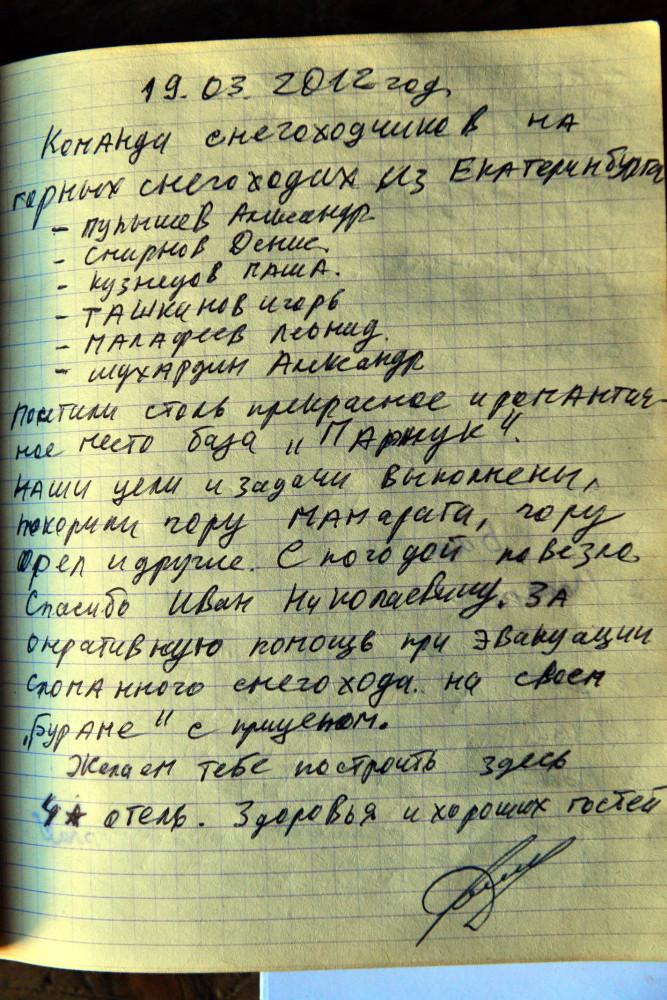 База Парнук, Маркосян Усик..