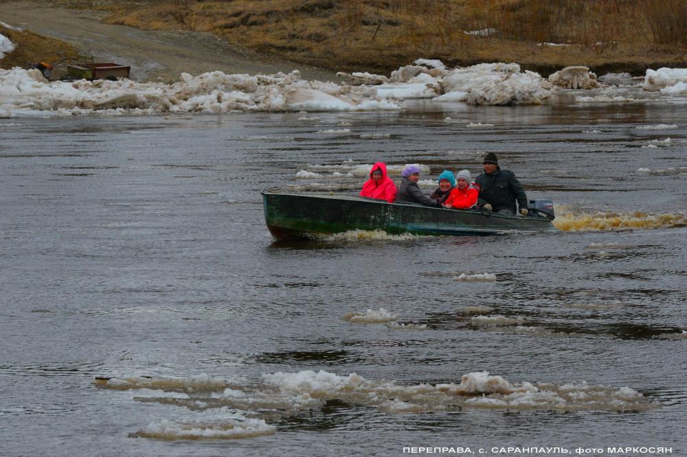 Переправа Саранпауль, река Ятрия (2)