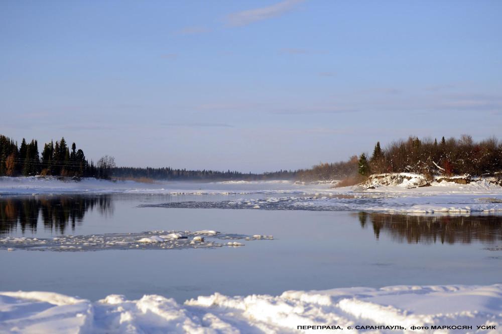 Переправа Саранпауль, река Ятрия1-.