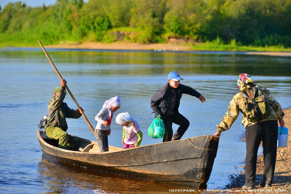 Переправа Саранпауль, река Ятрия=- фото Маркосян Усик