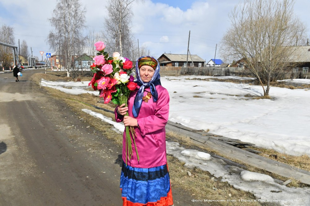 фото Маркосян Усик. Деревенский парад в Саранпауле 2017г....... (2)