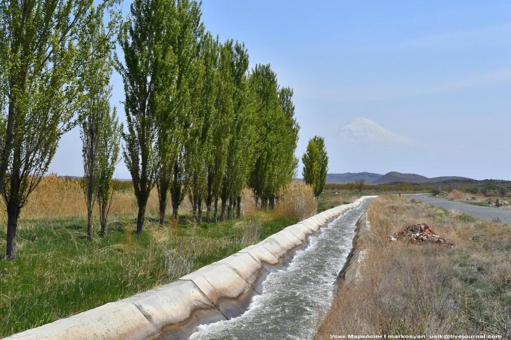 Весенняя Армения, Усик Маркосян, . Հուսիկ Մարկօսյան,.