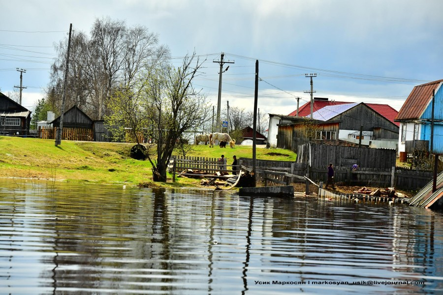 наводнение в Саранпауле. фото Усик Маркосян,,,