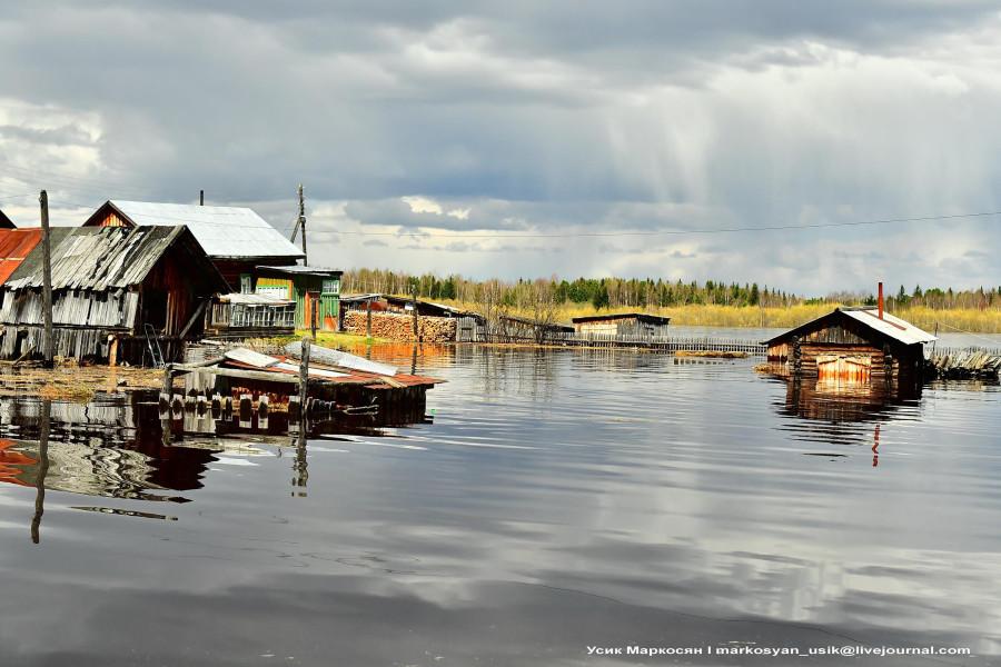 наводнение в Саранпауле. фото Усик Маркосян-,