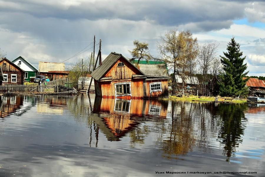 наводнение в Саранпауле. фото Усик Маркосян-,-