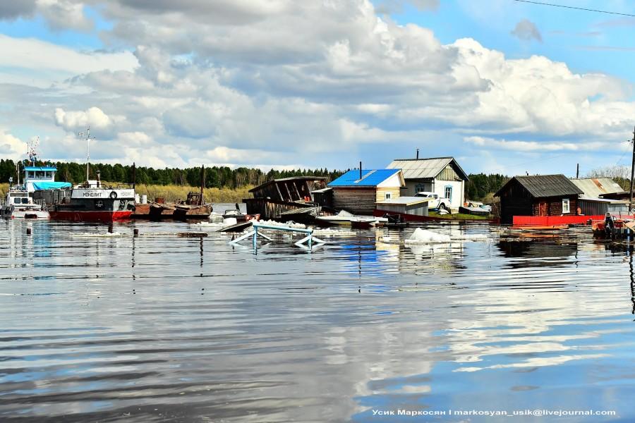 наводнение в Саранпауле. фото Усик Маркосян.,,
