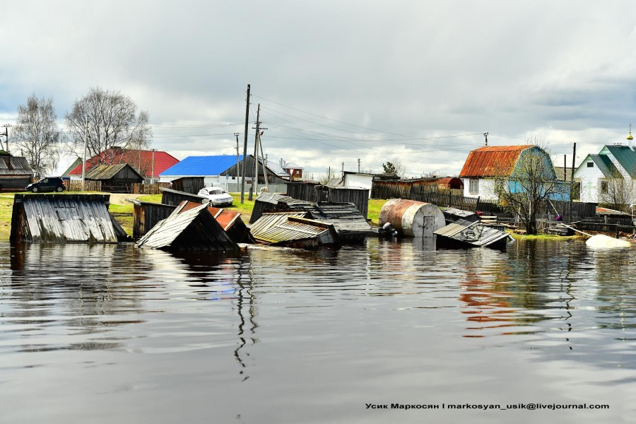 наводнение в Саранпауле. фото Усик Маркосян.,.