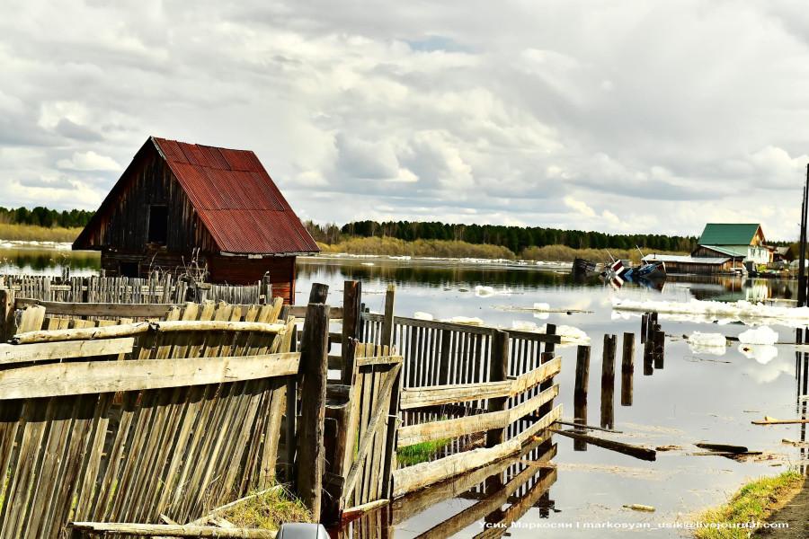 наводнение в Саранпауле. фото Усик Маркосян.....