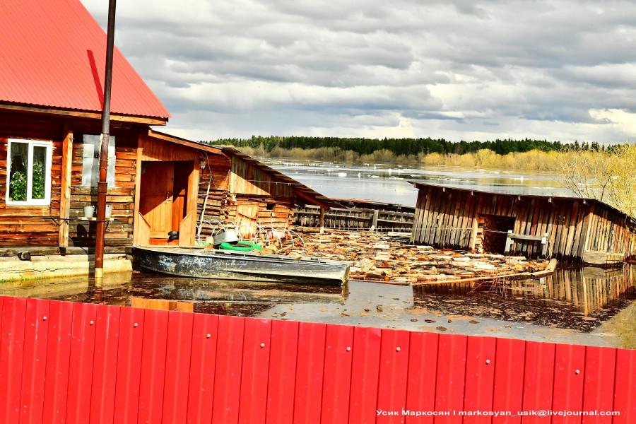 наводнение в Саранпауле. фото Усик Маркосян...1