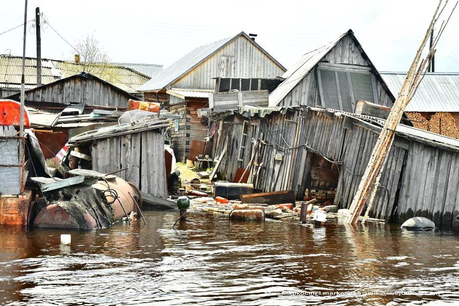 наводнение в Саранпауле. фото Усик Маркосян--=
