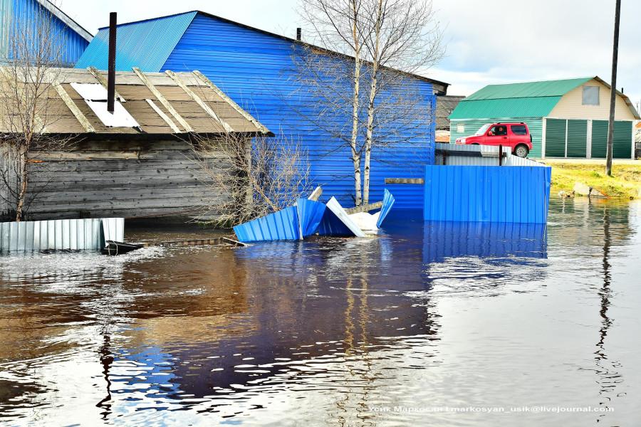 наводнение в Саранпауле. фото Усик Маркосян112
