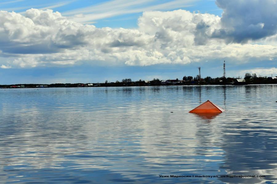 наводнение в Саранпауле. фото Усик Маркосян,,,.