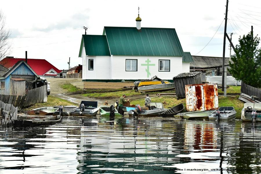 наводнение в Саранпауле. фото Усик Маркосян