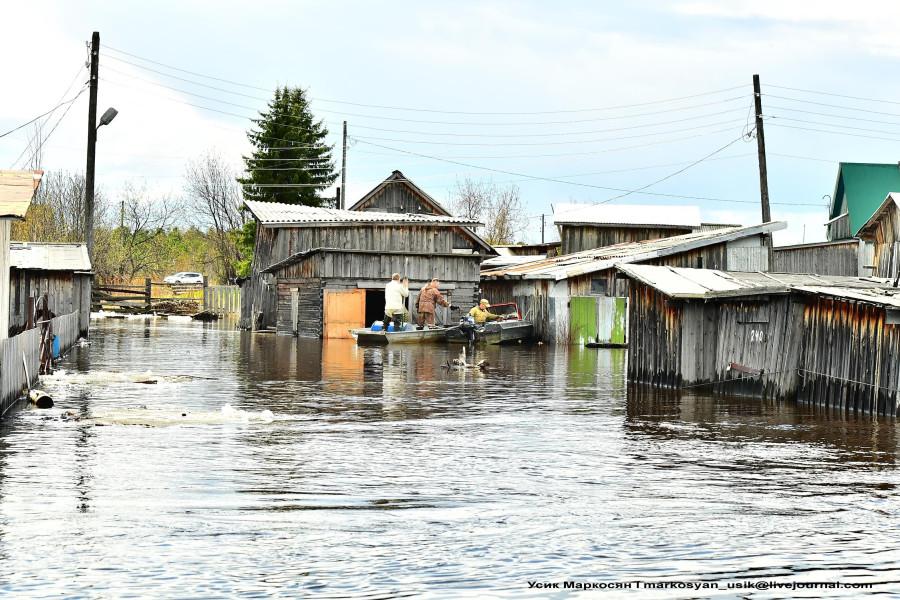 наводнение в Саранпауле. фото Усик Маркосян .. (2)