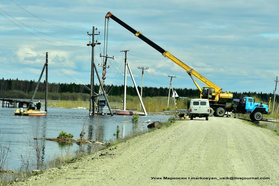 Наводнение в Саранпауле...