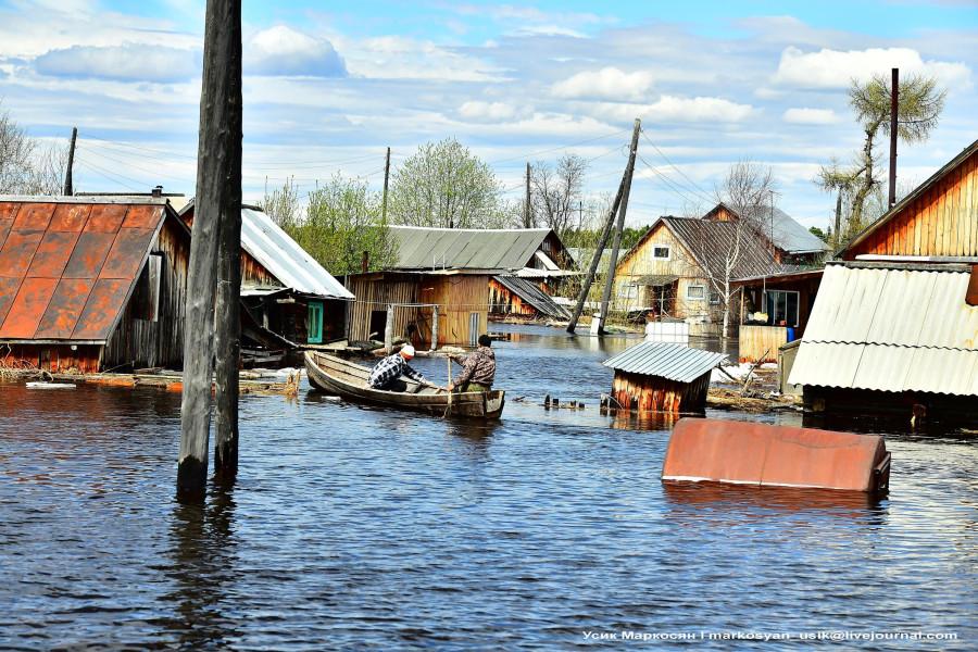 Наводнение в Саранпауле .