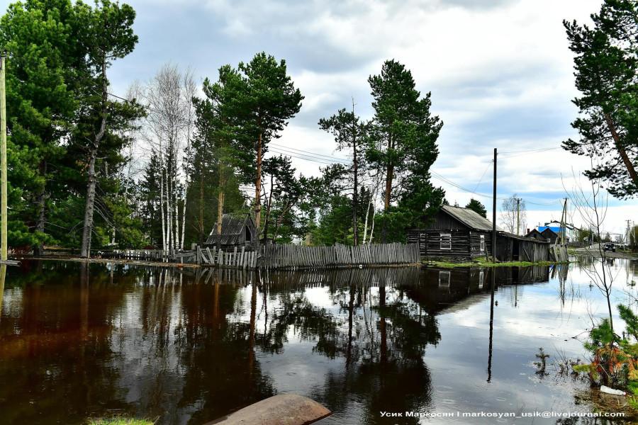 наводнение в Саранпауле. фото Усик Маркосян.-