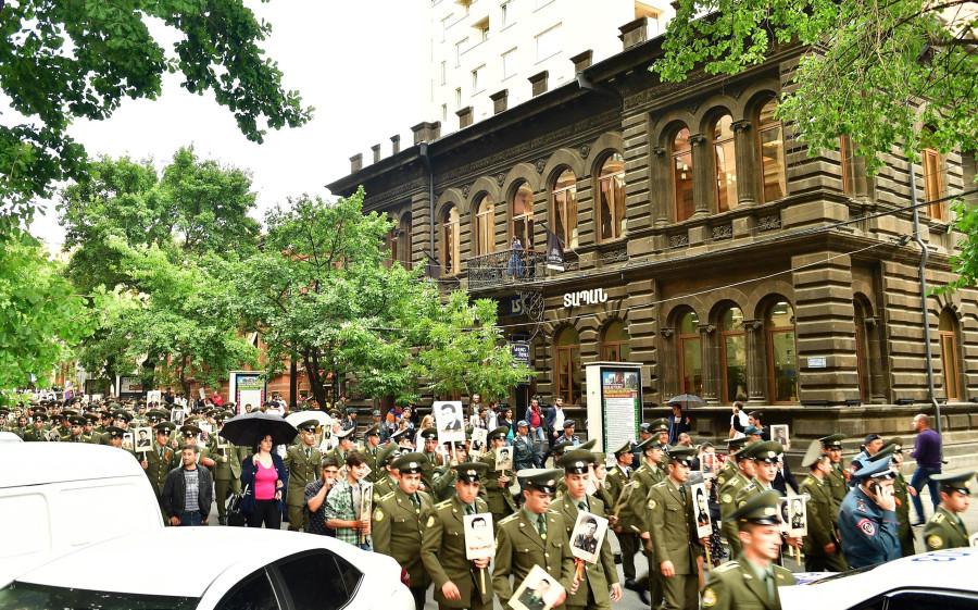 День Победы в Ереване (в Армении)