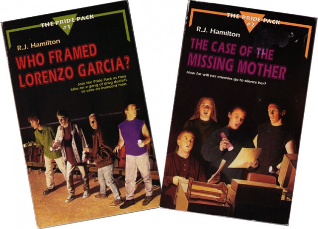 Original Covers from Alyson Publications in 1995