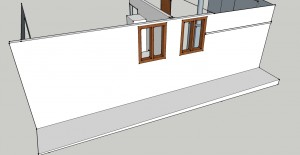 garage with render