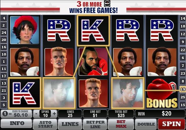 Rocky слот