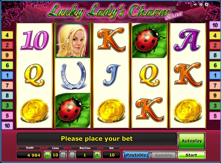 Lucky Ladys Charm слот