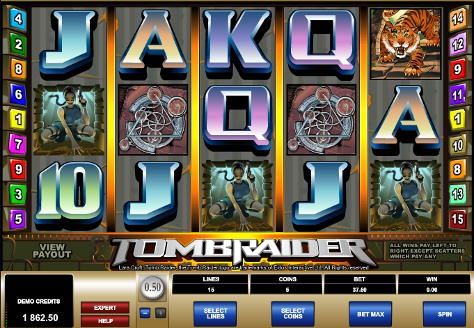 Tomb Raider слот