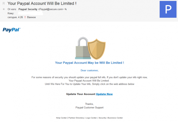PayPalFishing