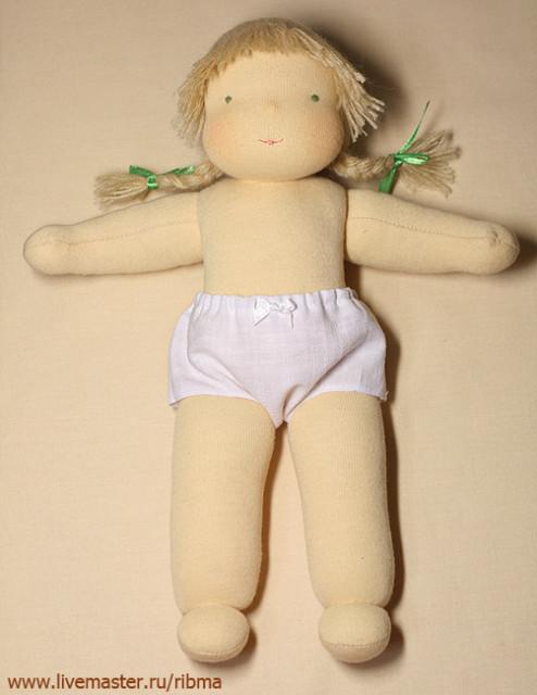 Сшить вальдорфскую куклу своими руками мастер класс