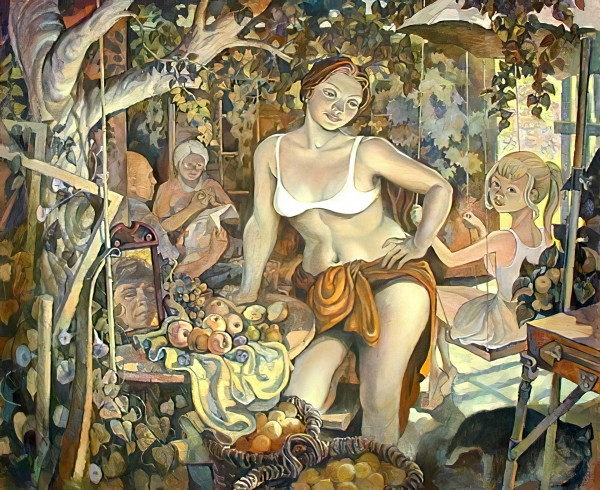 Серов Сергей Георгиевич.«Август».1983