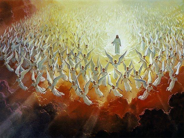نزول فرشتگان بر زمین در شب قدر