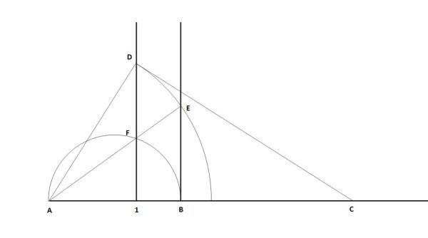 Геометрическое возведение в куб