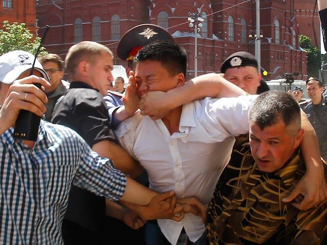 Активисты задержали Дана Чоя