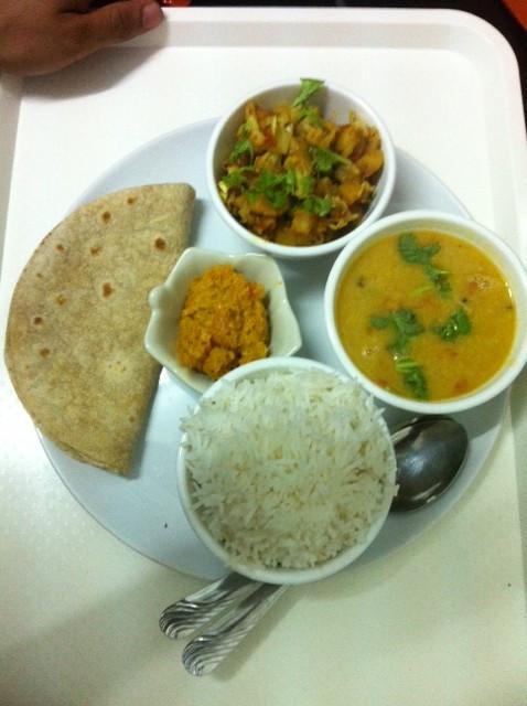 Daily Dish - 130 Baht. Pure Vegetarian