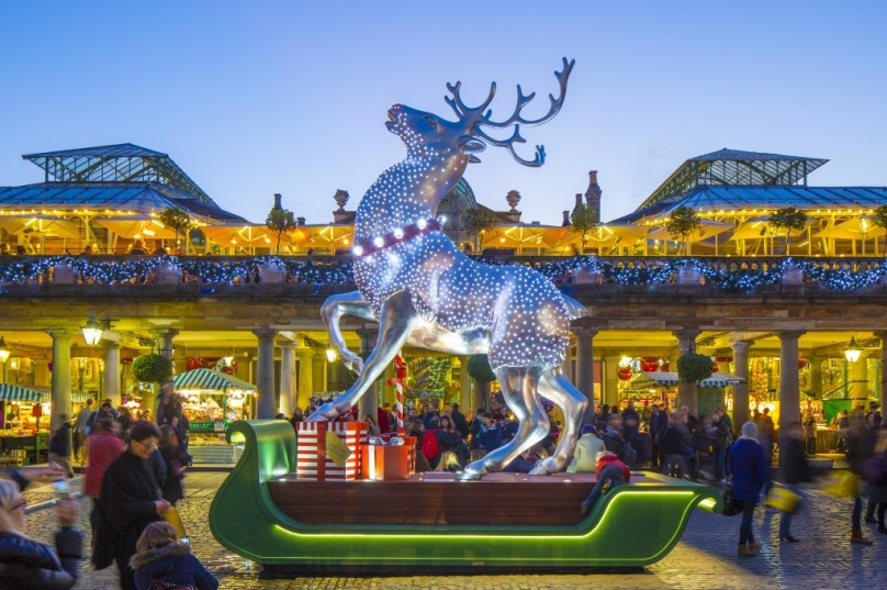 See the Christmas lights around London 2014