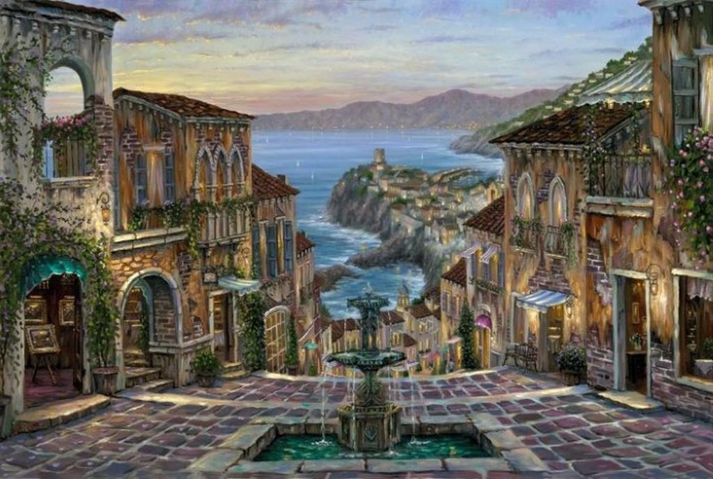Картины кубинского художника Роберта Финала (Robert Finale)