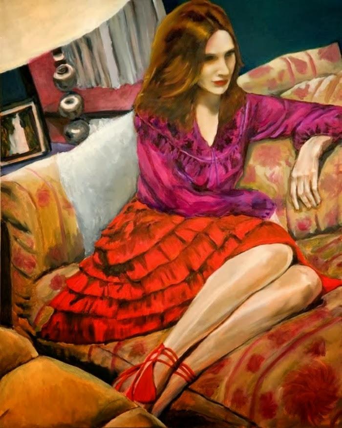 Картины американской художницы Кимберли Брукс (Kimberly Brooks)